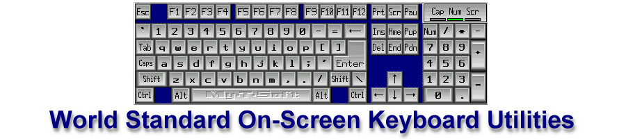 On screen Keyboard User Interface | My-T-Soft
